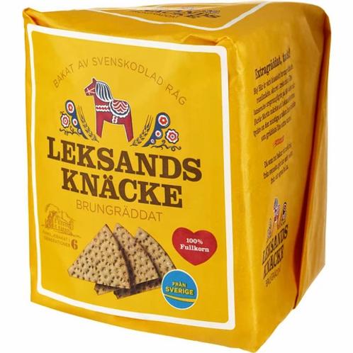Leksands Knäcke Brungräddat - Brown baked Crispbread 200gr