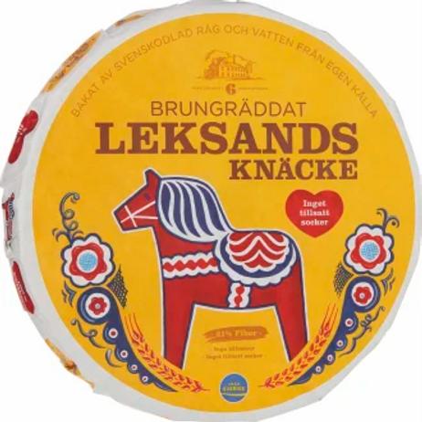 Leksands Brungräddat Knäcke - Brownbaked Crispbread 830 gr