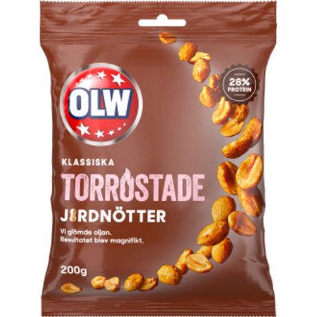 Jordnötter Torrostade, Olw. 200 gr.