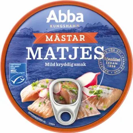 Abba Mästar Matjes, 200gr