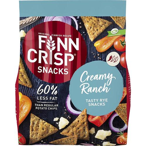 Finn Crisp Rye Snack Creamy Ranch, 150g.