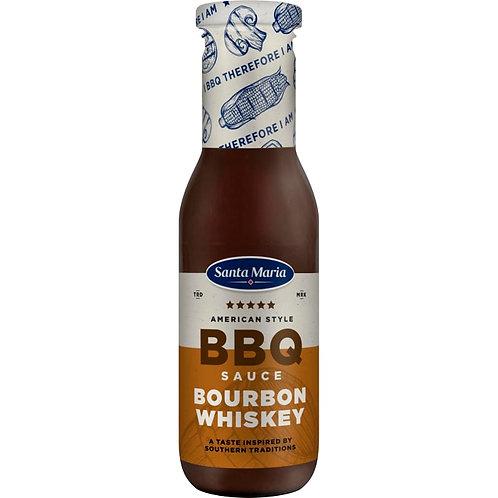 Santa Maria BBQ Sås Sauce Bourbon Whiskey, 370gr