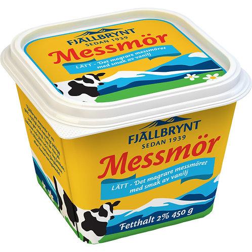 Fjällbrynt Messmör 2% fetthalt , 450 gr
