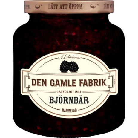 Marmelad Björnbär, Den Gamle Fabr. 380 g
