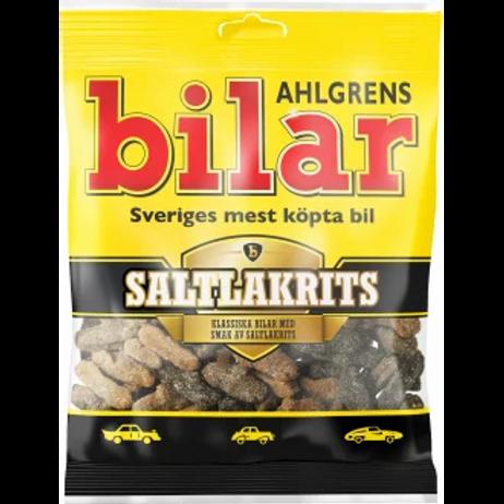 Ahlgrens Bilar saltlakrits, 130gr