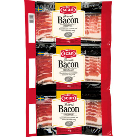 Bacon, 3-Pack, Scan, 3x140gr