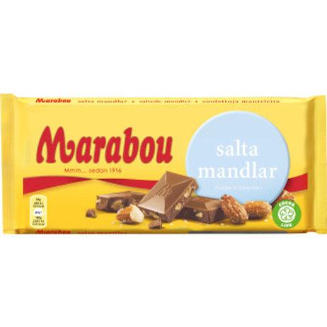 Marabou salta mandlar, 200gr
