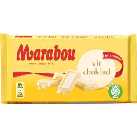 Marabou vit choklad, 185gr