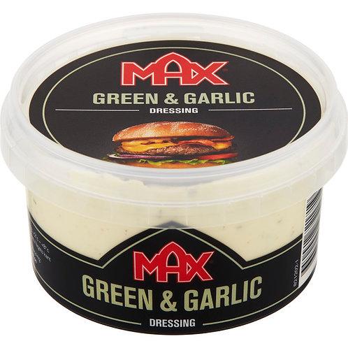 MAX Hamburgedressing Green & Garlic, 220ml
