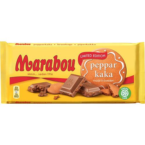 Marabou Choklad Pepparkaka ,  185gr