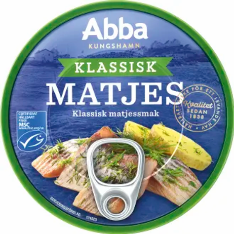 Abba Matjesill Klassisk, 200gr