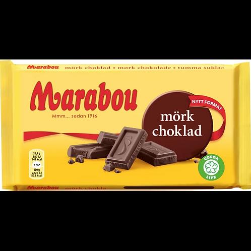 Marabou Mörk Choklad, 185gr
