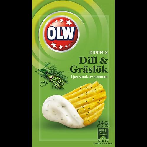 """OLW Dippmix """"Dill&Gräslök"""", 24gr"""