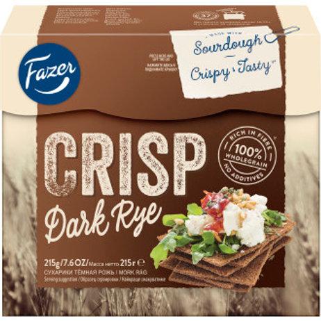 Crisp Dark Rye, Fazer, 215gr