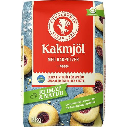 Kungsörnen Kakmjöl med Bakpulver, 2kg