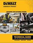DeWalt Technical Guide for the Design Pr
