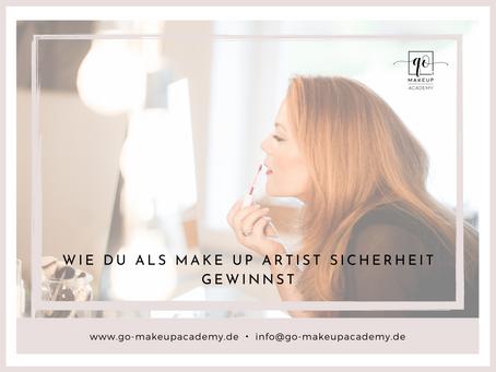 Wie Du als Make Up Artist Sicherheit gewinnst