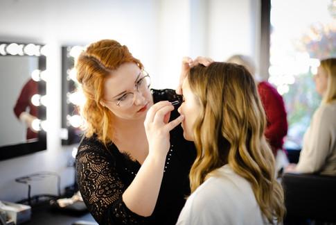 Make Up Artist Unterricht