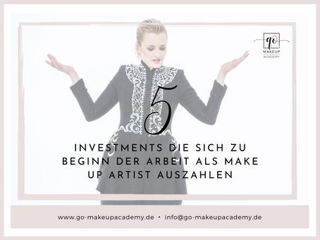 5 Investments, die sich zu Beginn der Arbeit als Make Up Artist auszahlen