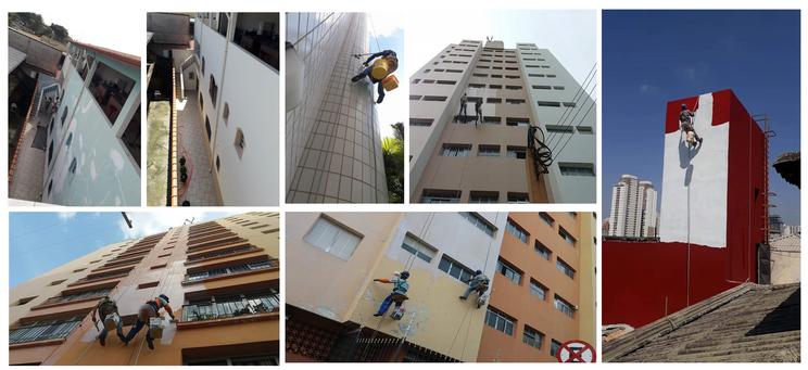 Restaurações de fachadas
