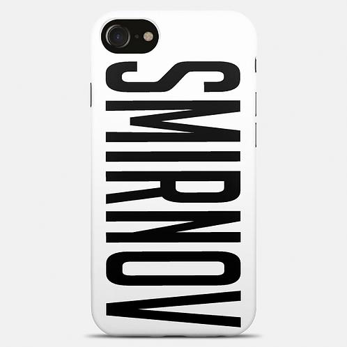 Чехол 2D c печатью для iPhone 7 белый