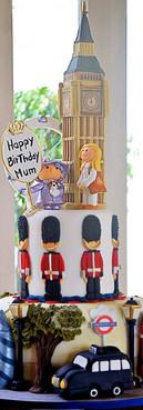 Bolo Londres london Cake Britsh cake de Simone Amaral