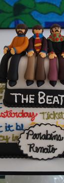 Bolo Beatles Cake Yellow Submarine  Birthday cake de Simone Amaral