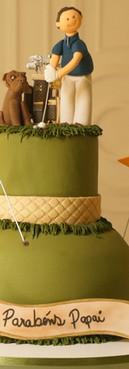 Bolo Golf Cake de Simone Amaral