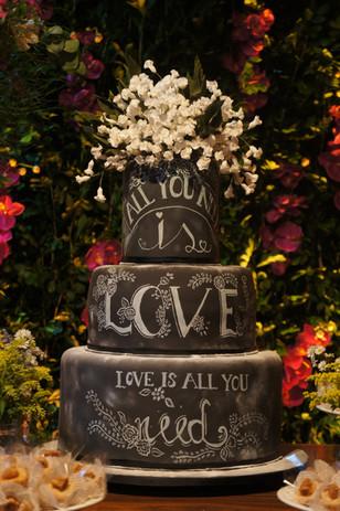 Bolo de Casamento Simone Amaral Chalkboard Cake Bolo lousa