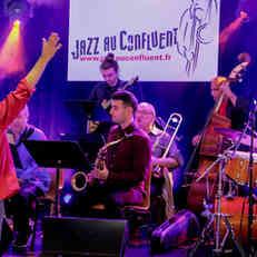 Large Band du Conservatoire de Cergy sous la direction d'Andrea Michelutti