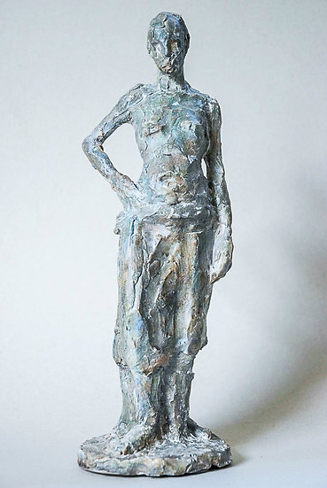 Marie-Anne Hamaide / Femme au pagne