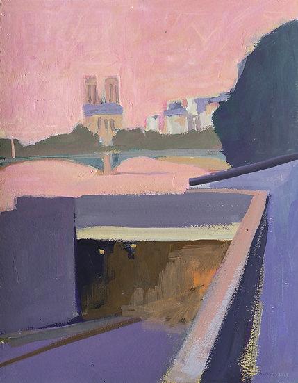 Bertrand de Miollis / Un tunnel vers Notre-Dame