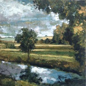 Le petit étang à Rennemoulin
