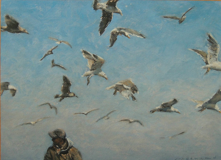 Jean-Daniel Bouvard / Les Oiseaux I