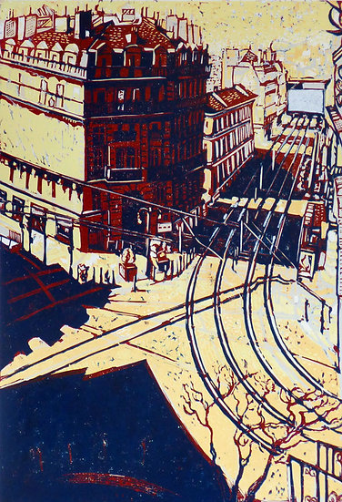 Pascale Hemery / Marseille seen from the basket