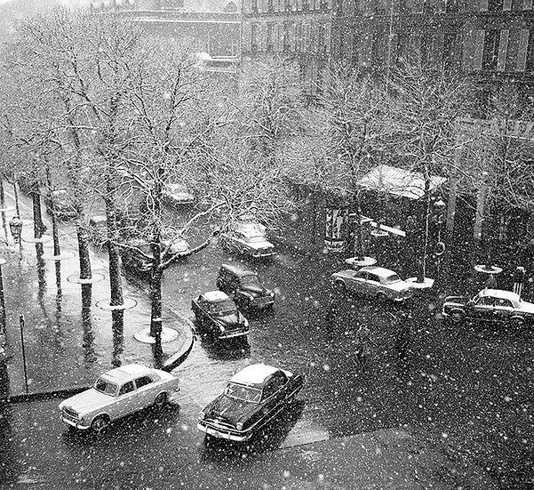 Georges Martin / Paris sous la neige