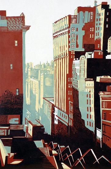 Pascale Hemery / View of Flatiron bulding, New-York