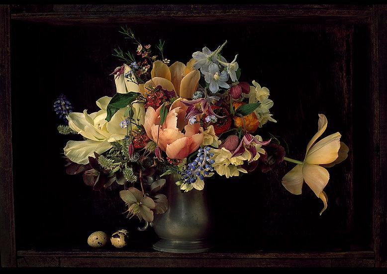 Allan Jenkins / Bouquet with the quail eggs