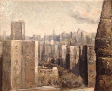 Manhattan, Vue du Brooklyn Bridge