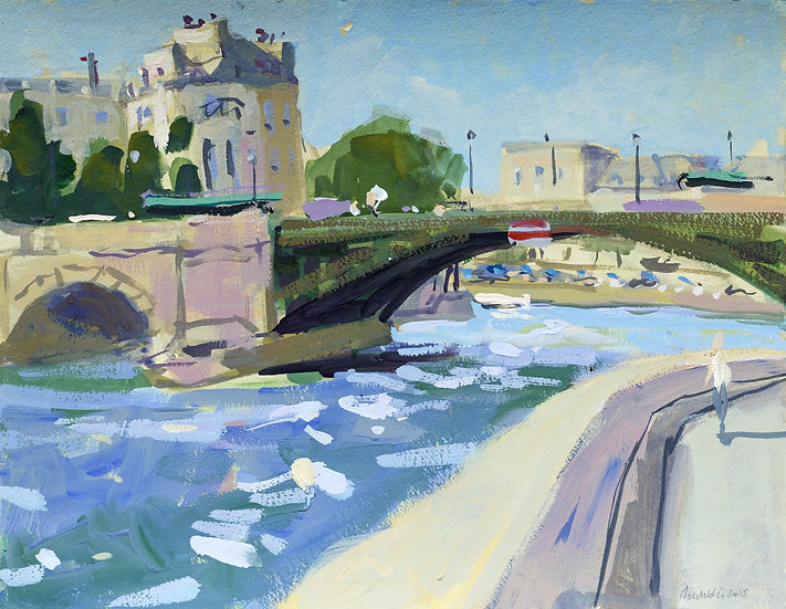 Bertrand de Miollis / The bridge
