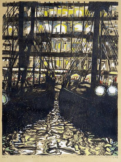 Pascale Hemery / Saint Katharine Docks in the city - London