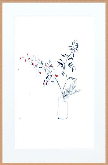 Marc Dubrule / Le bouquet de baies rouges