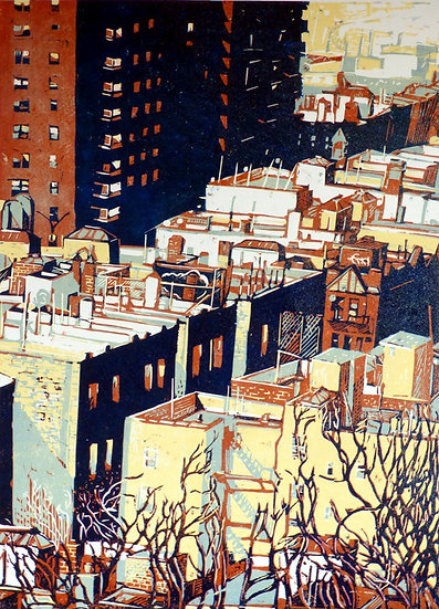 Pascale Hemery / From the heights, New-York