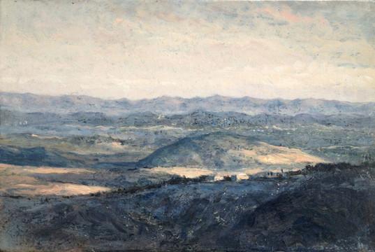 Point de vue à Voltera, Soirée