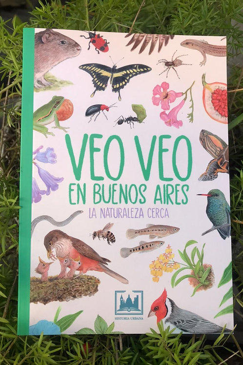 Libro Veo Veo en Buenos Aires - de Marcelo Canevari