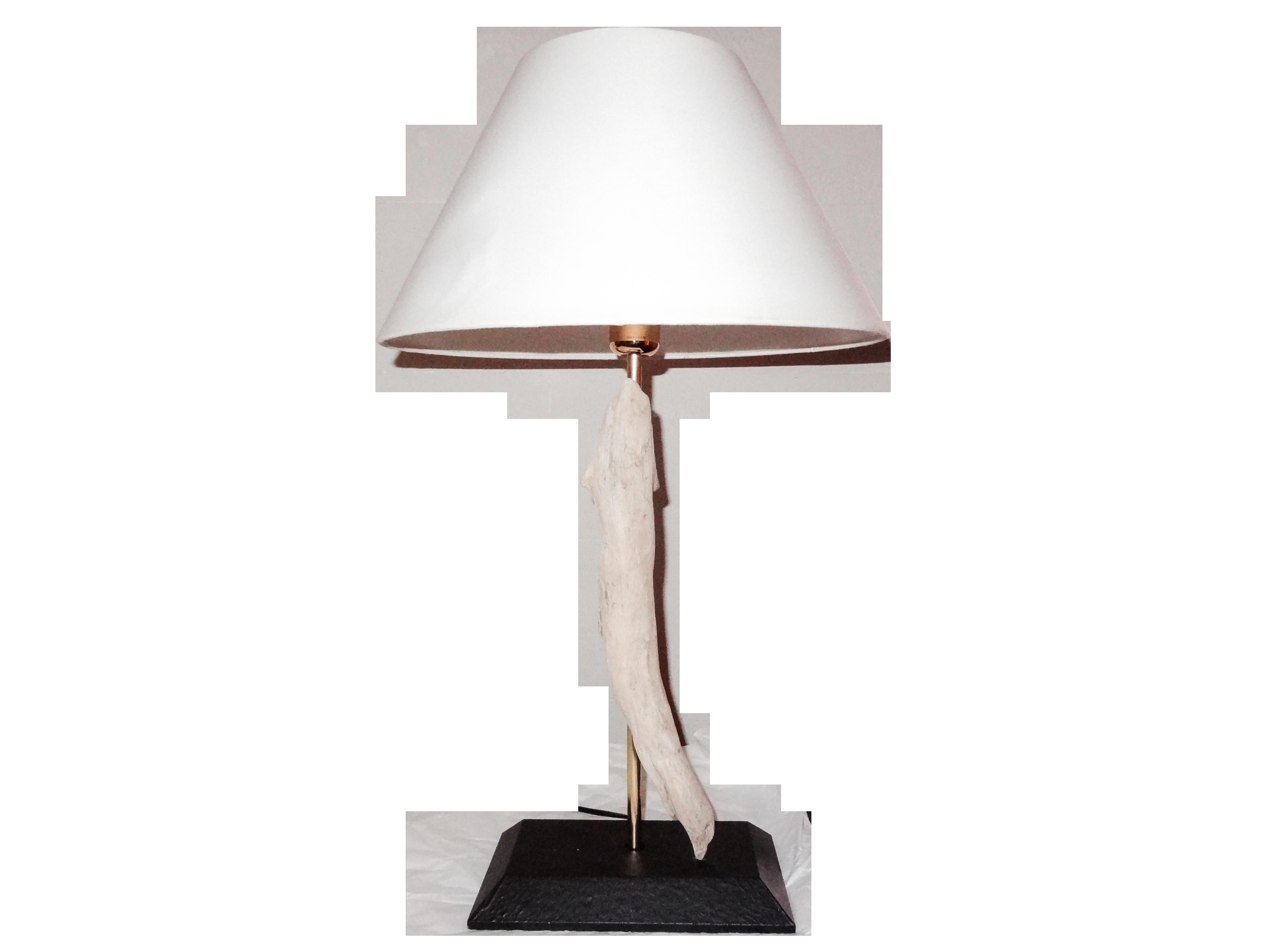Lampada legno di mare