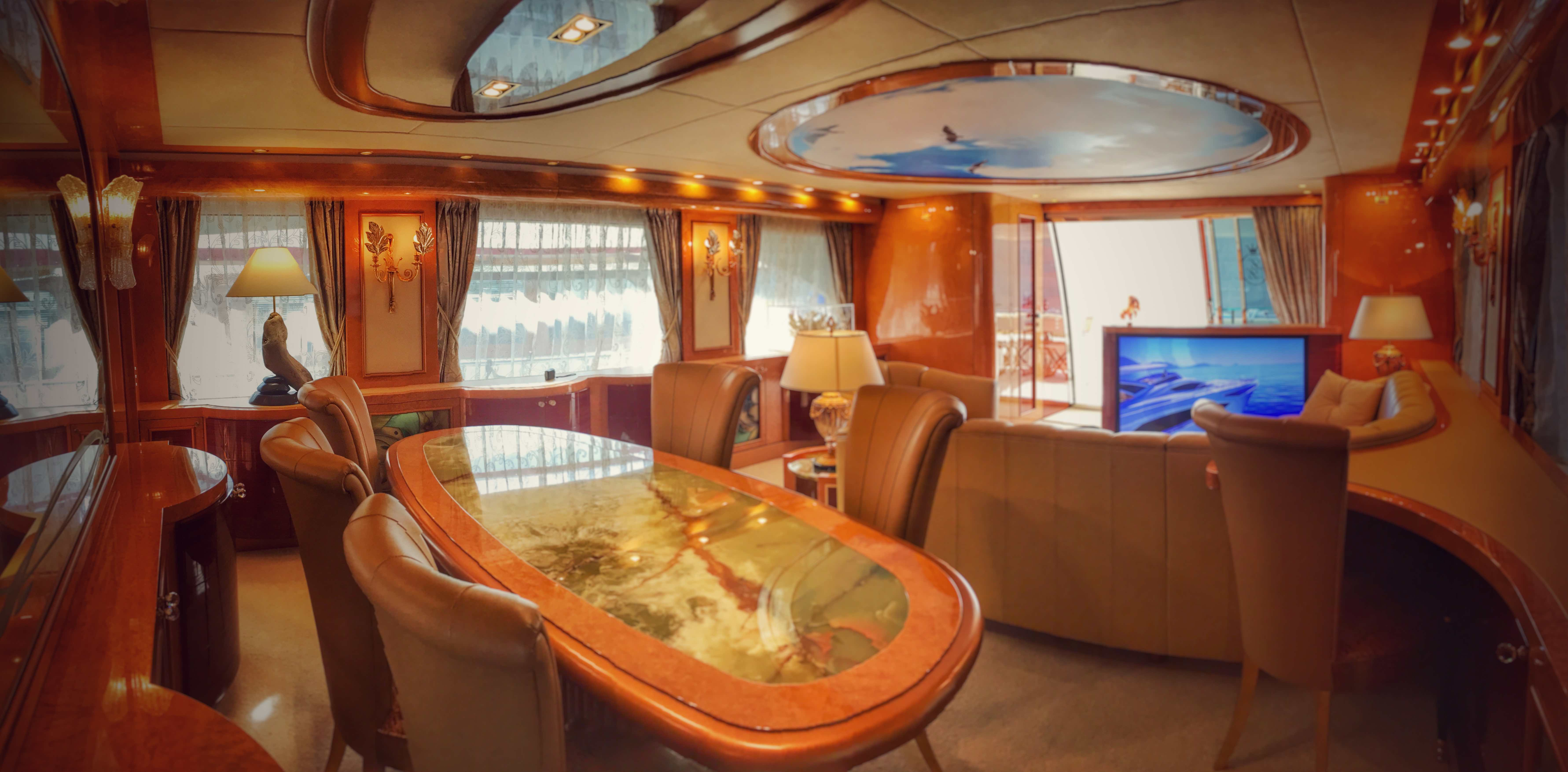 Luxury Interior Design Yacht