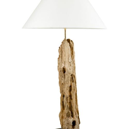 Lampade Con Legni Di Mare: Lampade da tavolo BUISSON lampada con legni di mare.