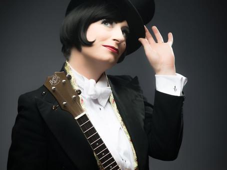 Vintage songstress Tricity Vogue brings cabaret to Yeovil