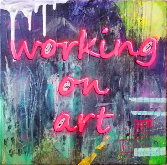 Working On Art